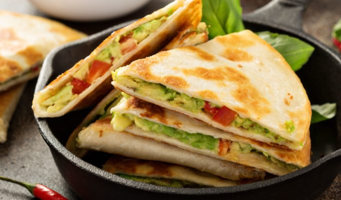 Rezept für Avocado Quesadillas, Mexiko