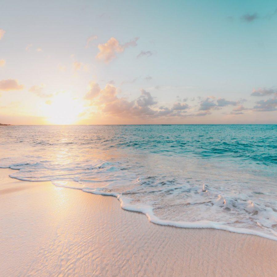 Sonnenuntergang, die 10 schönsten Strände Europas