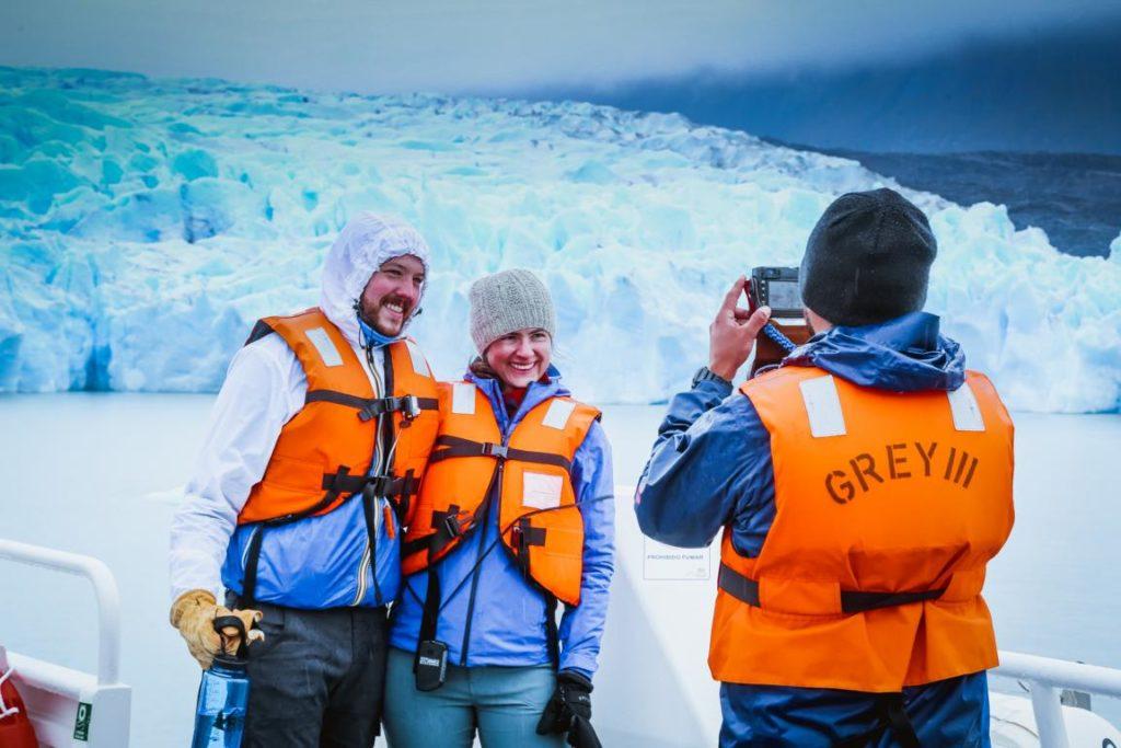 Bootstour zum Grey Gletscher, Chile