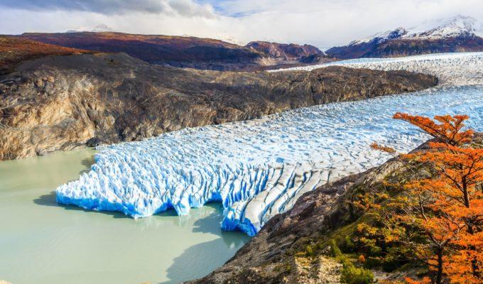 Grey Gletscher, Torres del Paine Nationalpark, Chile