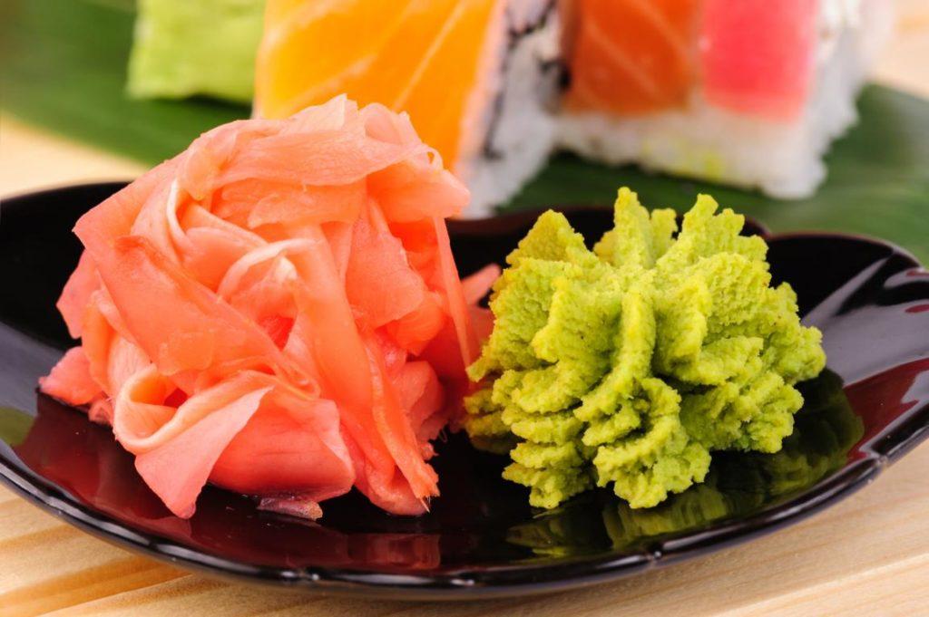 Fakten über Sushi, Wasabi, Ingwer, Food Japan