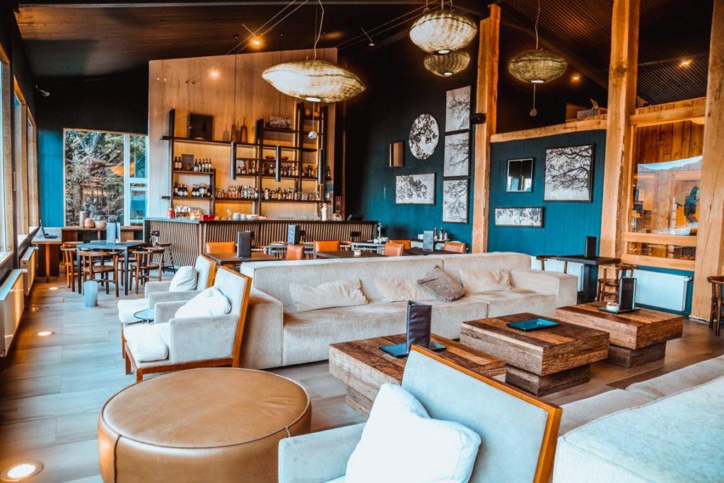 Lounge und Bar, Hotel Lago Grey, Chile