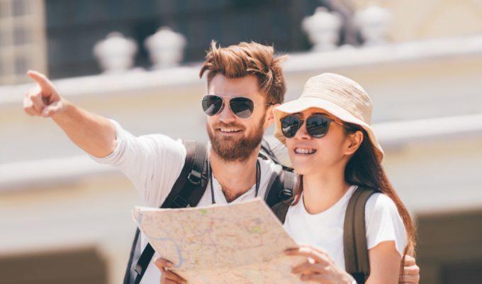 Wegbeschreibung, Reisen mit Reiseleiter