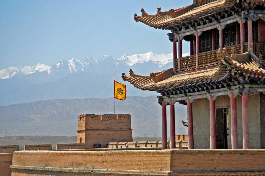 Jiayuguan Fort - Tipps China
