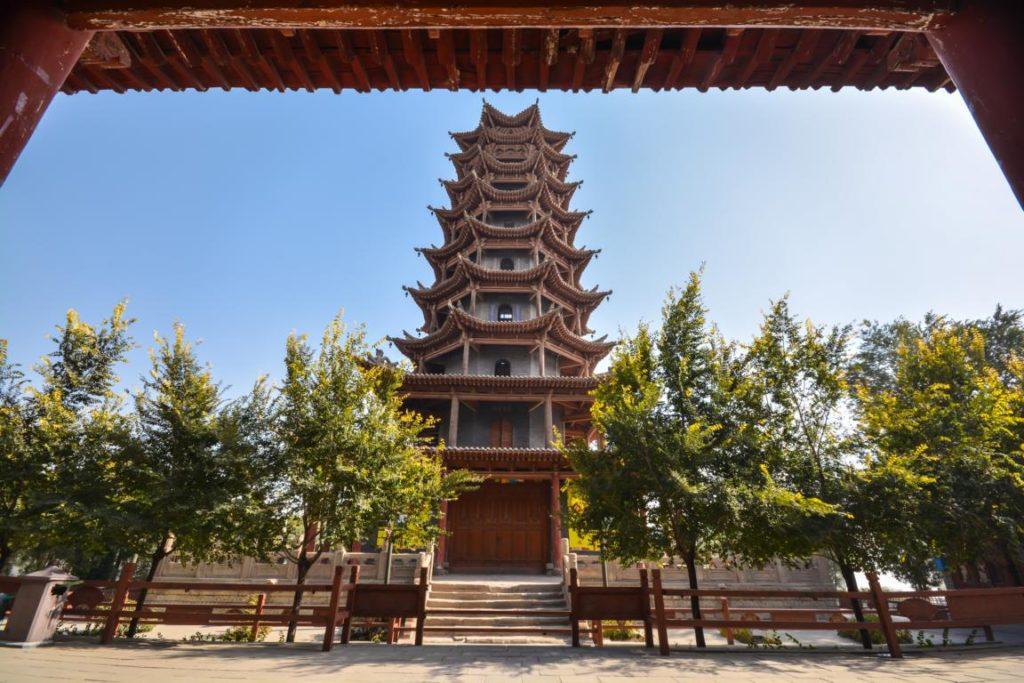Hölzerne Pagode, Zhangye - Reisetipps China