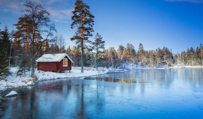 Rotes Holzhaus, Schweden, Schweden Knigge, Skandinavien