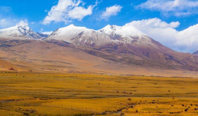 Landschaft bei Xining - Tibetisches Hochland erleben