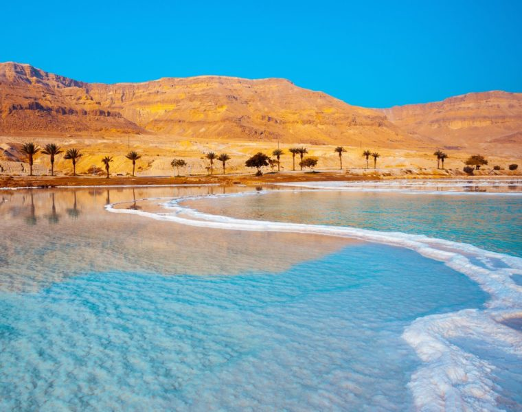 Küste des Toten Meer, Israel