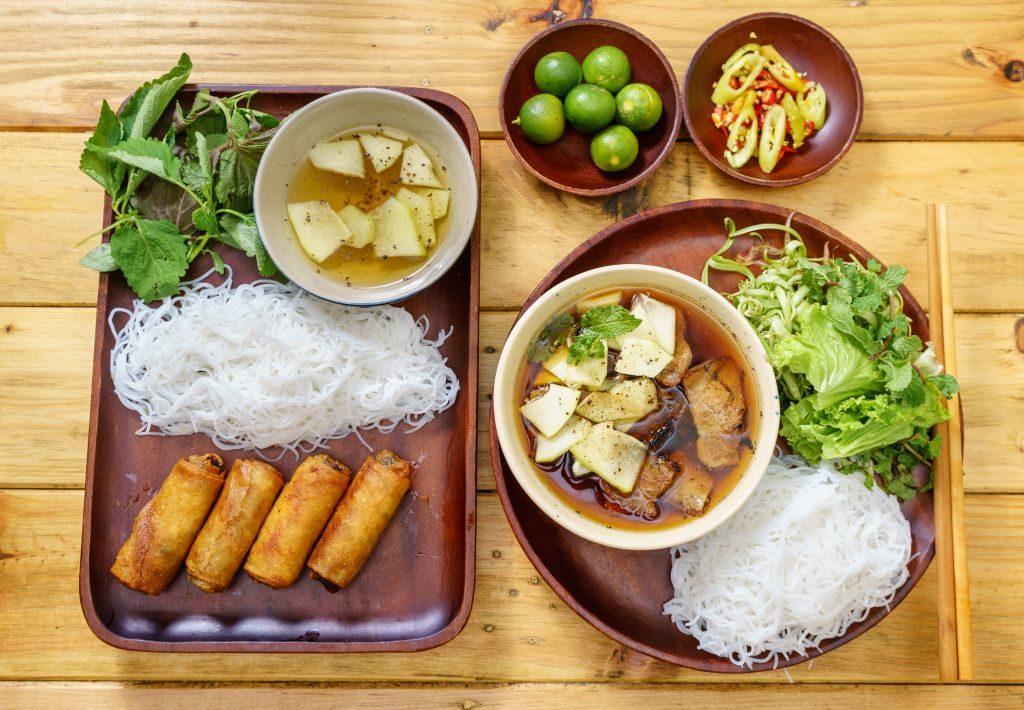 Bun Cha, Essen, Vietnam Urlaub Tipps und Informationen