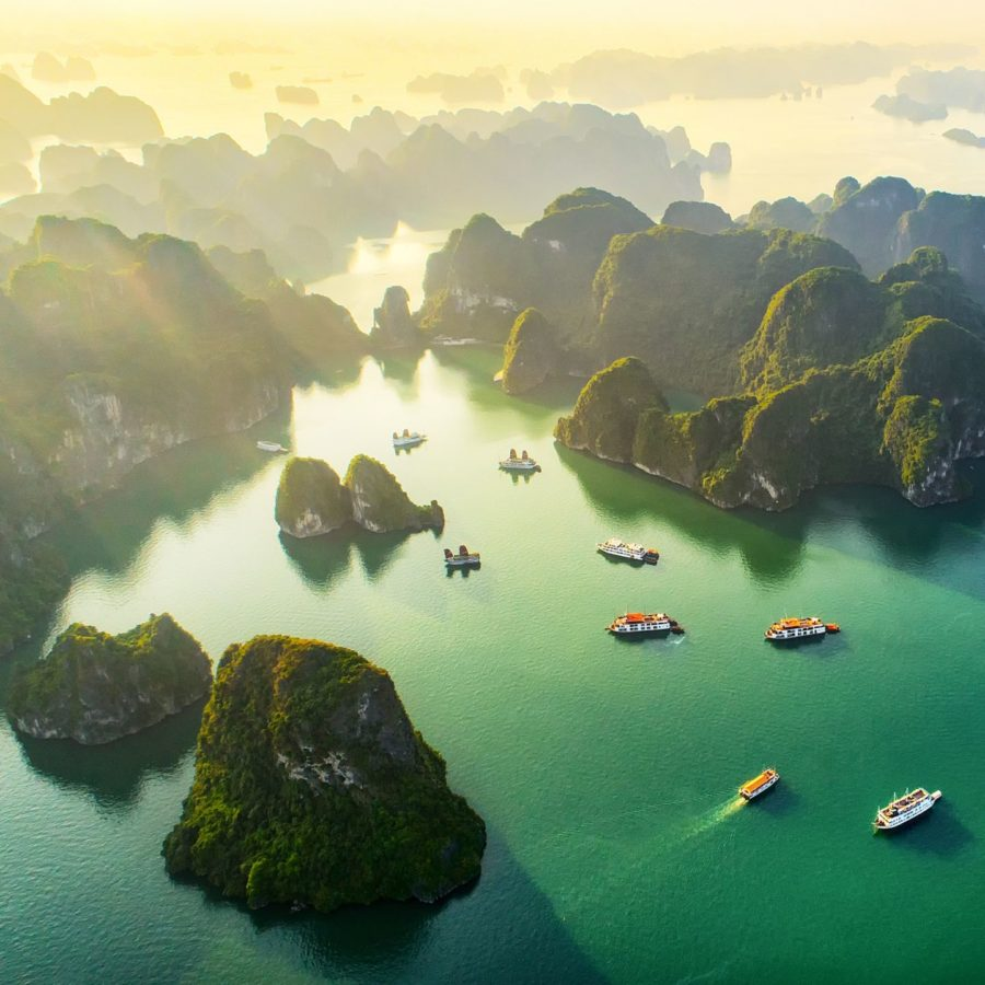 Halong Bucht, Vietnam Urlaub Tipps und Informationen
