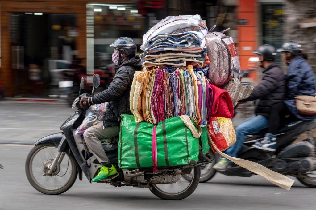 Roller in Hanoi, Vietnam Urlaub Tipps und Informationen