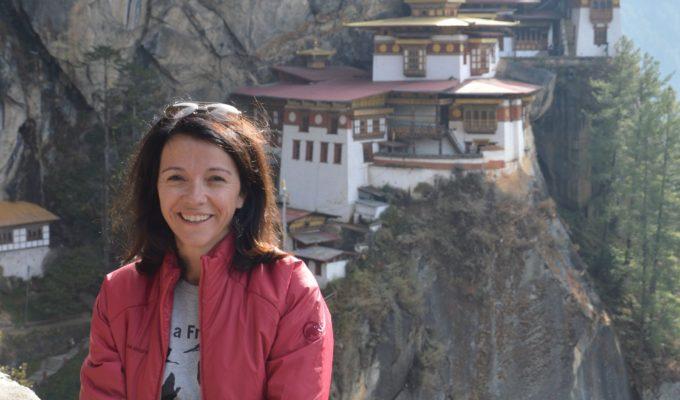 Sandra Jäger in Bhutan, Tigernestkloster, Travelheads des Monats