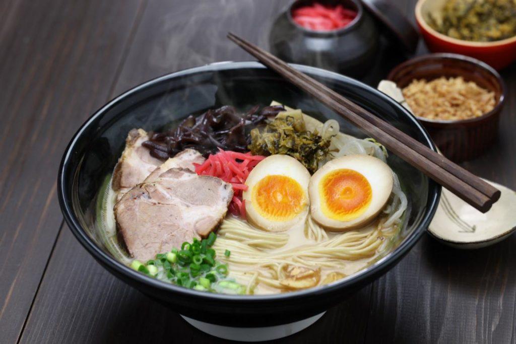 Ramen, japanische Suppe, Rezept