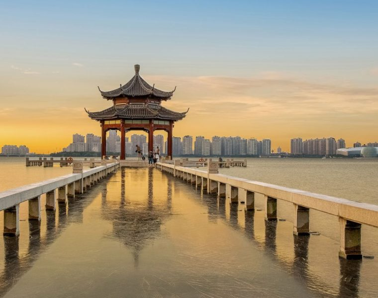Jinji Lake, China, Suzhou