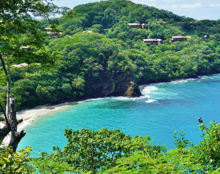 Strand, Costa Rica mit KLM