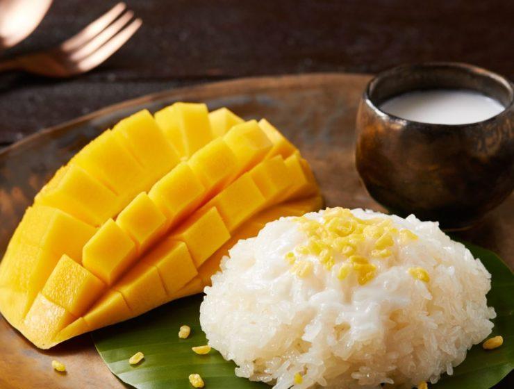 Sticky Rice mit Mango Rezept
