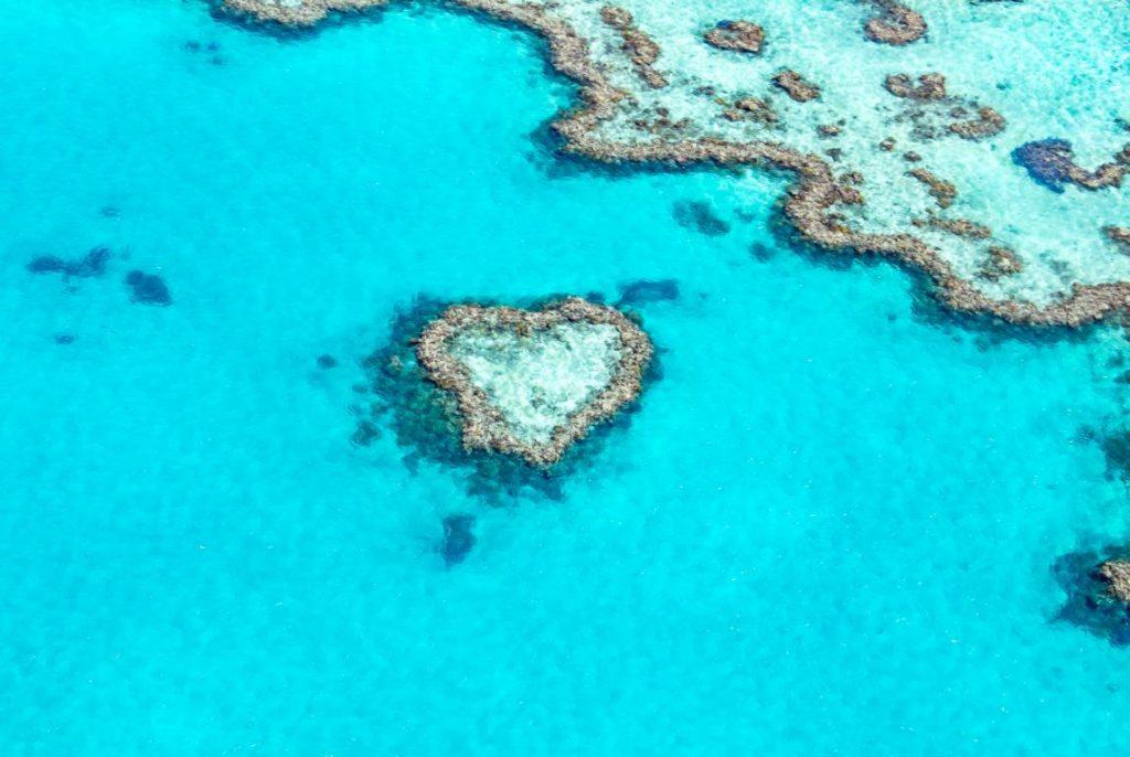 Whitsunday Islands, Australien, Heart Reef, Great Barrier Reef