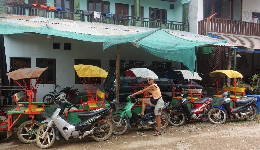 Tuk-Tuk in Laos