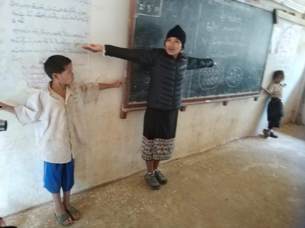 Schulkinder in Laos
