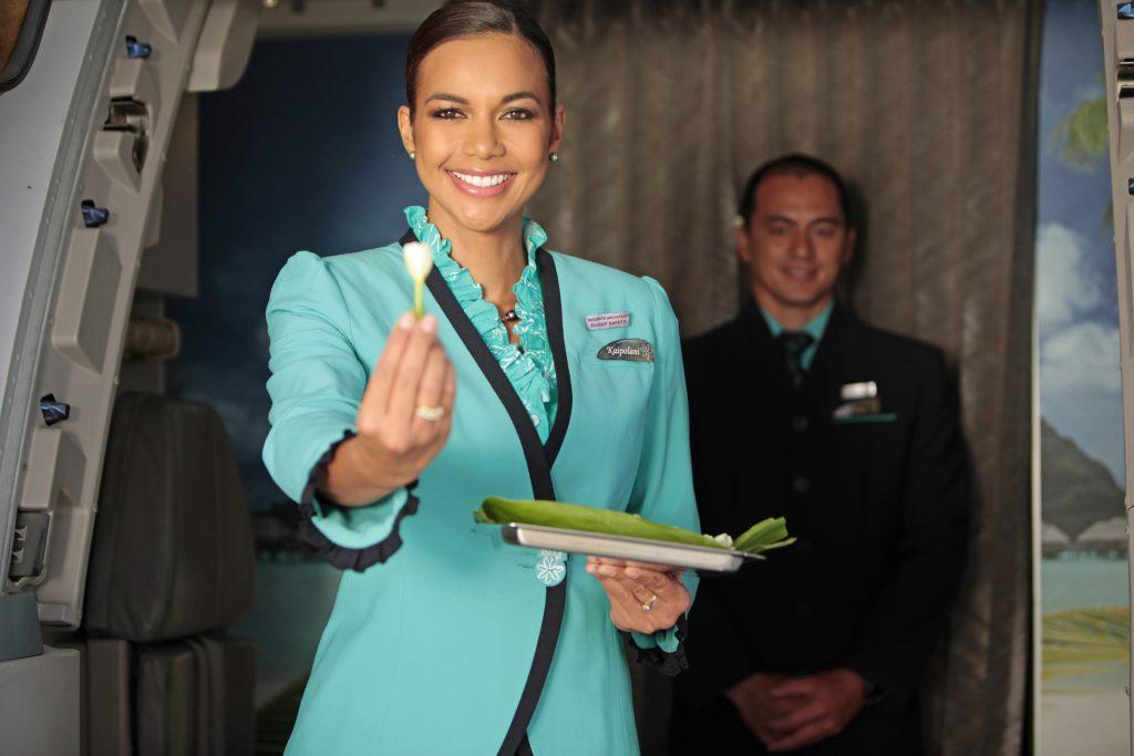 Air Tahiti Nui - WIllkommen an Bord