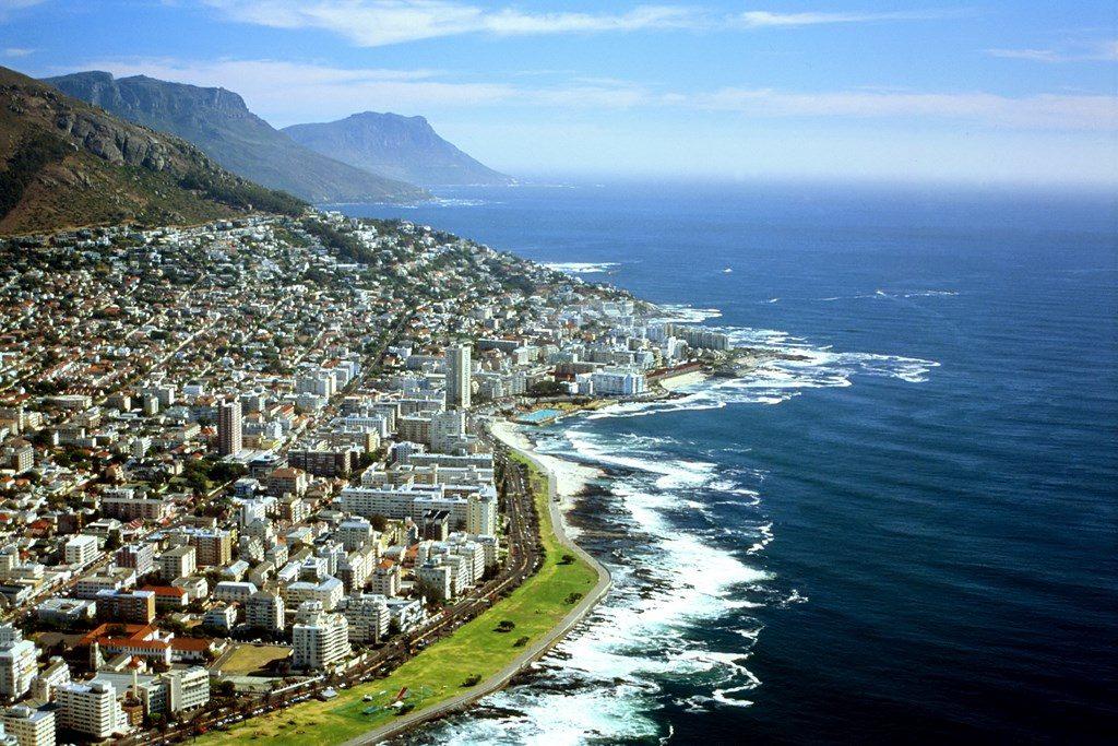 Luftaufnahme Kapstadt