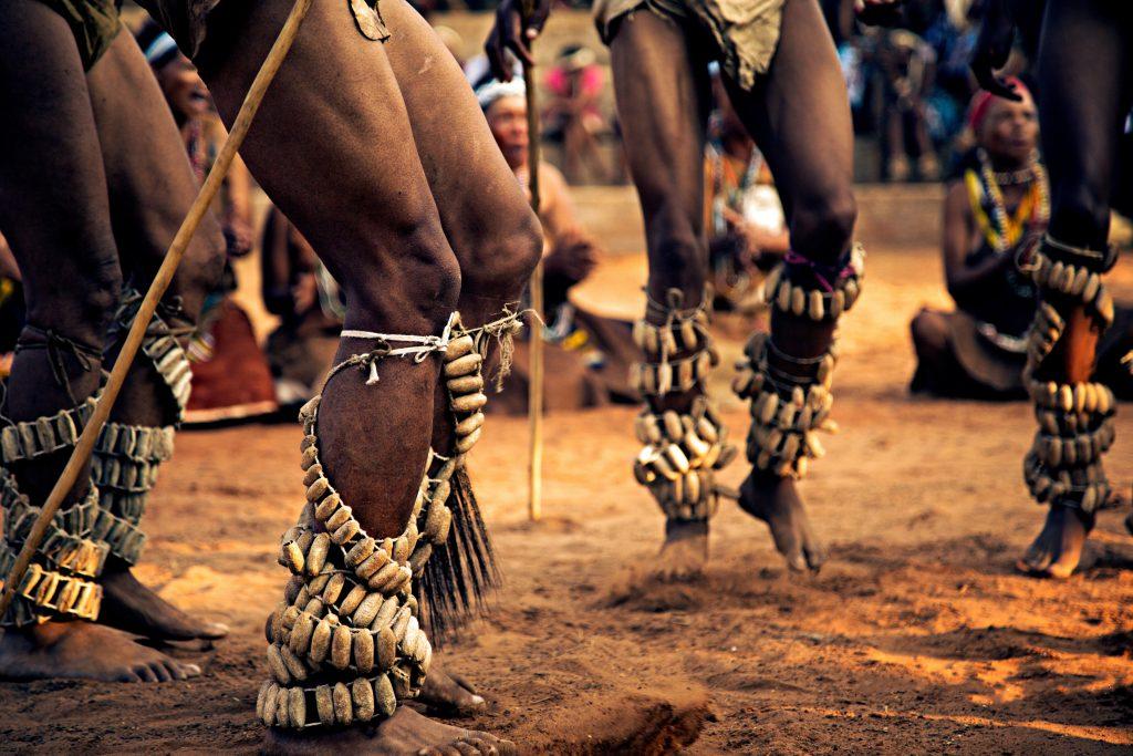 Tänzer in Botswana