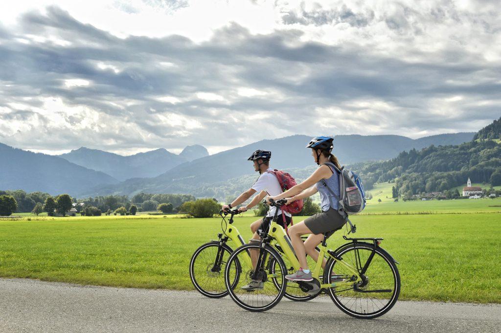Radeln bei Bad Feilnbach - Copyright © Chiemsee-Alpenland Tourismus