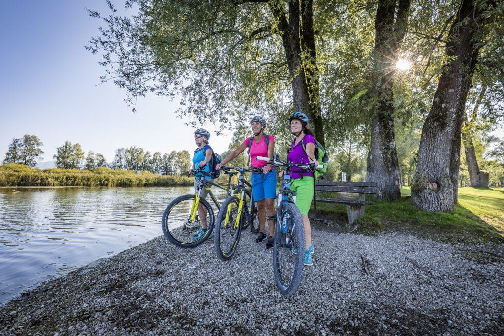 Radeln bei Rimsting - Copyright © Chiemsee-Alpenland Tourismus