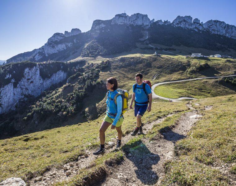 Wandern unterhalb der Kampenwand Copyright © Chiemsee-Alpenland Tourismus